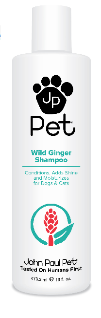 John Paul Pet Wild Ginger Shampoo 473,2 ml spendet Glanz